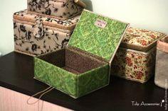 Шкатулка из картона своими руками - Ярмарка Мастеров - ручная работа, handmade