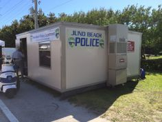 Local Juno Beach Police took over this FORT