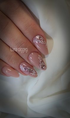 ideas nails - ideas nails - Nothing will be hidden! Lace Nails, Pink Nails, Gel Nails, Nail Nail, Beautiful Nail Art, Gorgeous Nails, Pretty Nails, Beauty Hacks Nails, Nails Only