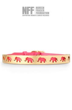 This Breast Cancer Awareness Month, show your support with gold bracelets for a cause. Shop the Strength Bracelet, an elephant bracelet, from Stella & Dot.