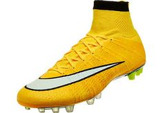 Nike Mercurial Superfly AG Soccer Cleats - Laser Orange
