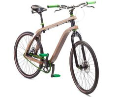 Wooden Two-Wheelers - Get Your Green on With the Stanislaw Ploski 'Bonobo' Plywood Bike (GALLERY)