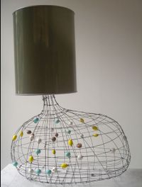 I love things made out of wire and beads. I don't know why, but I've liked it for years