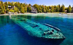1679 shipwreck Lake Michigan | Shipwreck, Lake Huron, Michigan