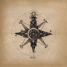 [ Art & Art ideas ] / compass picture on VisualizeUs