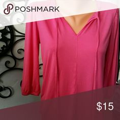 Top The softest knit ever, ties and 3/4 sleeve GAP Tops Tees - Long Sleeve