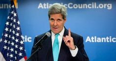 """Secretary of State John Kerry told the Atlantic Council man-made global warming is a fact as settled as the law of gravity and failing to act on it """"is just plain immoral."""" by William F. Jasper"""
