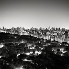 Josef Hoflehner, Central Park Nights II (East) - New York City, NY, 2011