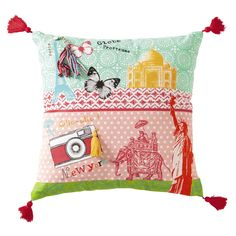Coussin enfant Pinkplanet