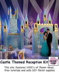 Cinderella Wedding Arch - Fairy Tale Theme Weddings - buy pieces individually or as a complete kit Cinderella Theme, Princess Theme, Cinderella Wedding, Cinderella Castle, Princess Wedding, Fairytale Party, Fairytale Castle, Prom Themes, Event Themes