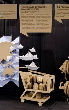 Barcelona. Abril2016 Exposición para el 40 aniversario de la feria Alimentaria.  Barcelona. Abril2016 Exposición para el 40 aniversario de la feria Alimentaria. #barcelona #ephemeral #interiordesign #design #artisticdirection #graphism #stand #event #exposition #pptinteriorismo