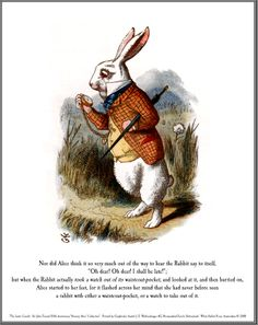 Shop Alice in Wonderland White Rabbit Art Tile Trivet created by imagina. White Rabbit Alice In Wonderland, Framed Art Prints, Canvas Prints, John Tenniel, White Rabbits, Rabbit Art, Adventures In Wonderland, Selling Art, Tile Art