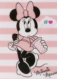 Minnie Mouse Pictures, Bull Tattoos, Mikey Mouse, Mickey Mouse Wallpaper, Disney Cards, Mouse Tattoos, Disney Background, Mickey Minnie Mouse, Mouse Parties
