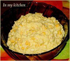 In my kitchen: Sałatka ryżowa z chrzanem