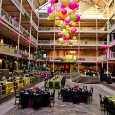 International Market Square Reception Space