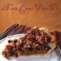 Honey Crunch Pecan Pie by crisco