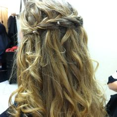 My hair was beautiful for prom(:
