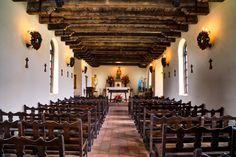 Historic Spanish architecture in San Antonio, TX
