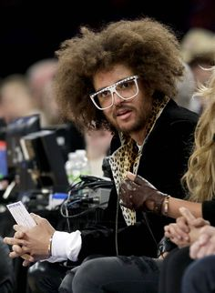 Redfoo, just so damn cool.