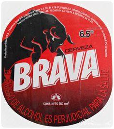 2005 ETIQUETAS DE CERVEZA COLOMBIANA: BRAVA. Mucho más sobre nuestra hermosa Colombia en www.solerplanet.com