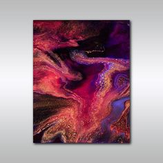 RESERVED LISTING - Jewel Toned Art Print - 11x14 Purple Fine Art Giclee Reproduction