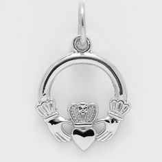 Gold Claddagh Charm by Rembrandt Charms Fine Jewelry, Women Jewelry, Claddagh, Heart Ring, Bracelets, Necklaces, Charmed, Jewels, Crystals