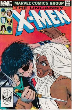 Uncanny XMen 1963 1st Series 170 Junw 1983 Issue  by ViewObscura