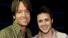 Kris and Keith Urban.  #CelebrateKris with music's greats.