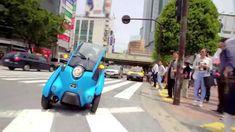 TOYOTA i-ROAD 東京を走る!