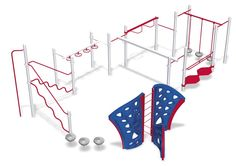 Fit Path | Fitness Playground | Play Structure $23,248