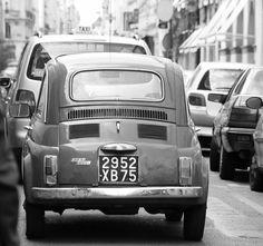 original fiat 500,  old car