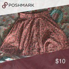 Daisy skater skirt Pink skater skirt covered in super cute daisies Skirts Circle & Skater