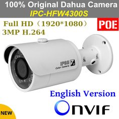 Cheap poe ip camera, Buy Quality poe outdoor ip camera directly from China poe ip outdoor camera Suppliers: Newest Arrival!Dahua IP Camera DH-IPC-HDW4421(6)S 2688*1520 Waterproof Network Camera Full HD 1080P 4MP CCTV CameraUSD 8