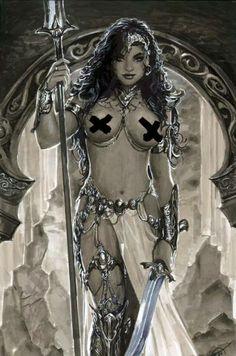 Breathtaking~Erotic-And-Fantasy-Art : Photo Fantasy Anime, 3d Fantasy, Fantasy Warrior, Fantasy Women, Fantasy Girl, Fantasy Artwork, Dark Fantasy, Fantasy Images, Boris Vallejo