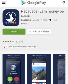 Check out the #Rabadaba App Attention #android users. The long awaited android update is Available in the #googleplay store #socialmedia #RABADABA #mobileapp