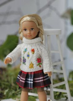 Hey, I found this really awesome Etsy listing at https://www.etsy.com/listing/539448687/doll-clothes-6-inch-white-knitted