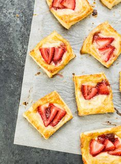 Mini Strawberry Cream Cheese Danish