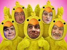 Ready to hatch some Easter fun? Casting five in the ever-popular Chicken Dance is all it's cracked up to be!
