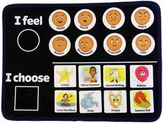 Self Regulation Felt Board for Kids