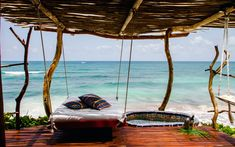 My husband and I are headed to the Riviera Maya in Mexico this week. We'll be staying near the bohemian beach town of Tulum. Tulum Mexico, Mexico Honeymoon, Vacation Destinations, Dream Vacations, Vacation Places, Places To Travel, Places To See, Summer Vacation Spots, Road Trip