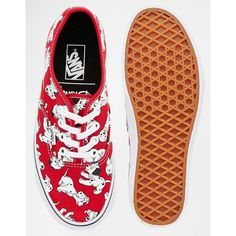 Vans Disney Dalmations Print Authenic Sneakers ($72) ❤ liked on Polyvore featuring shoes, sneakers, laced up shoes, round toe sneakers, lace up shoes, dalmatian print shoes and round cap