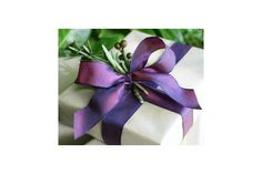 Plum Taffeta Wired Ribbon by Jane Means