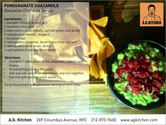 Pomegranate Guacamol