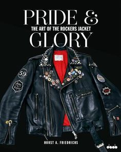 lovinharustar: Pride and Glory _Horst A Friedrichs Motorcycle Leather, Biker Leather, Leather Men, Leather Jackets, Motorcycle Jackets, Dark Fashion, Leather Fashion, Mens Fashion, Pride And Glory