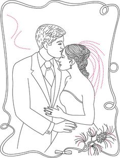 Couple Coloring Page by ktsaltishok, via Flickr