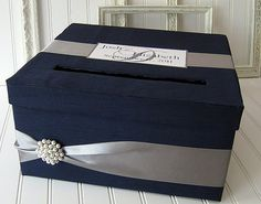 Card box.....you'll need something like this.....can be DIY. And someone should be put in charge of collecting it at the end of the night so you won't have to.