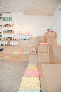 Delightful Modern Kids Cafe Interior Idea 65