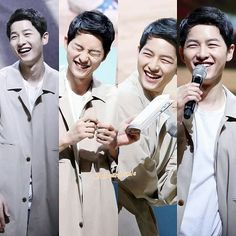 SONG JOONG KI❤️ my heart brights up when u smile Oppa❤️