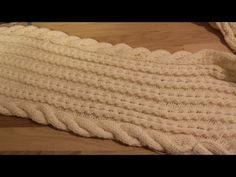 (19) Как связать шарф-снуд спицами: 2 видео. Двойной вязаный шарф-снуд спицами. Вязаные снуды спицами - YouTube