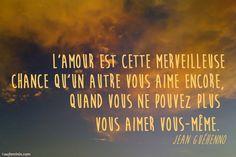 Aimer, c'est savoir dire je t'aime sans parler. Victor Hugo